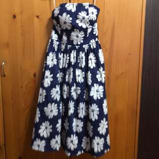 Love Bonito Floral Bustier Dress