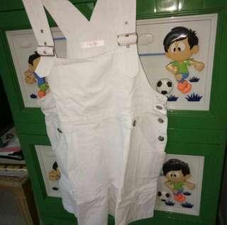 Baju kodok putih
