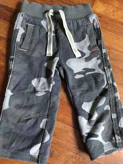 Camouflage military pattern pants
