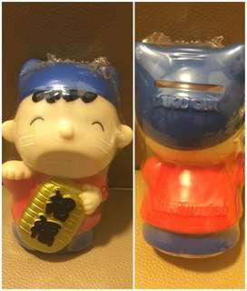 ** 分享 ** Sanrio Minna No Tabo 大口仔 1992 年 招財貓人形儲金箱 (日本 TAKUGIN 銀行)