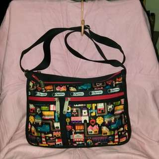 Lesportsac Deluxe weekend bag