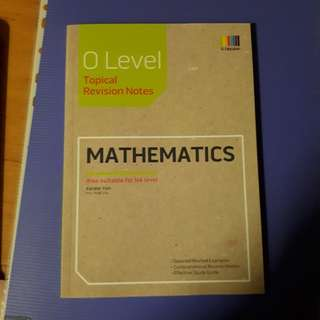O level topical Revision Notes for Mathematics