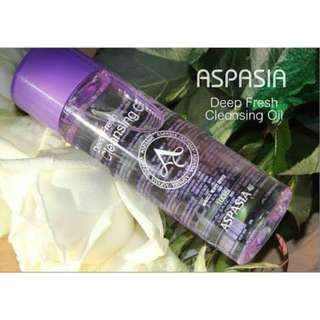 Aspasia Deep Fresh Cleansing Oil Makeup Remover 100ML
