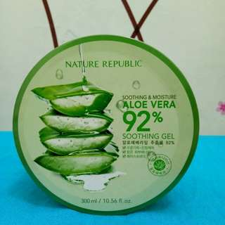 nature republic aloe vera soothing gel jar 300ml