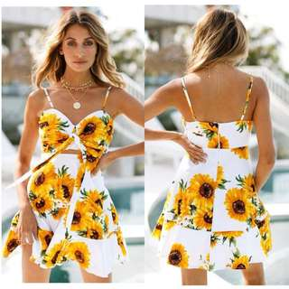 Sunflower Rib Dress