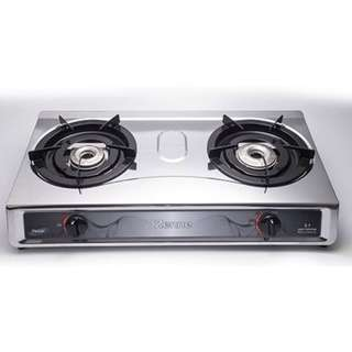 Zenne Double Burner Gas Stove Cooker (KDI106C)