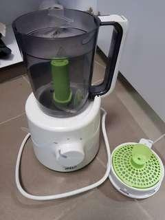Avent blender and steamer