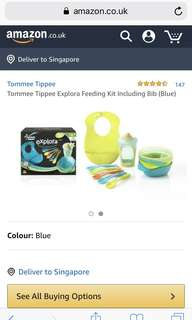 Tommee tippee explora feeding kit