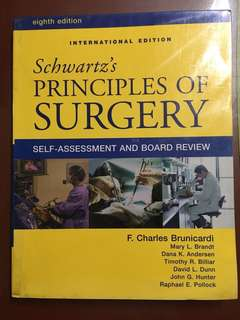 Schwartz's Principles of Surgery Self-Assessment and Board Review 8th edition