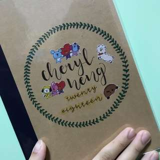Calligraphy Customise Book