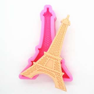 Eiffel Tower Craft Art Silicone Soap mold Craft Molds DIY Handmade Candle mold