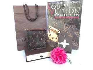 Authentic Louis Vuitton Monogram Zipper Wallet