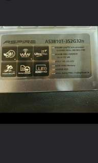 Acer As3810T