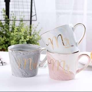 [PO] marble ceramic mugs