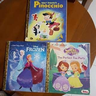 Disney books (hard cover)