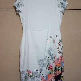 Apple & Eve white dress