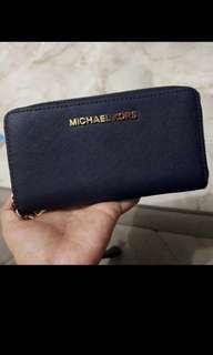 Michael Kors Navy Wallet