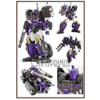 <Price Reduction> Mastermind Creations MMC Reformatted R-19 R19 Kultur - Transformers IDW MTMTE Tarn Reissue