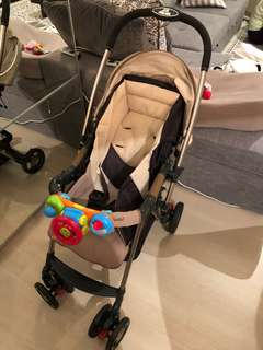 Stroller and Daybed/high chair