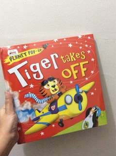 Tiger Takes Off( Pop Up books )