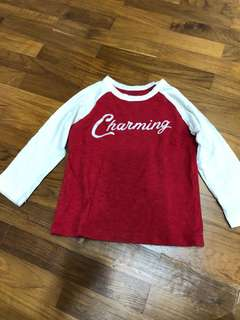 Long sleeved T-shirt - assorted from BabyGap, uniqlo, H&M