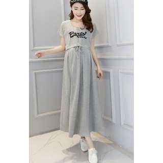 Cotton made Nursing Dress