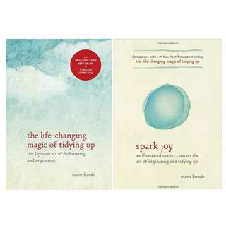 Marie Kondo EBOOKS - The Life-Changing Magic of Tidying Up, Sparks Joy