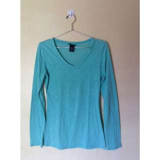Rue 21 Mint Green Long Sleeves