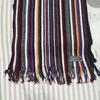 義大利製編織圍巾