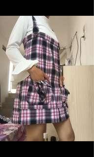 Tartan dress / dress luaran