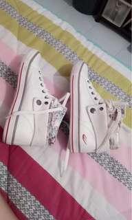 World balance white womens high-cut shoes