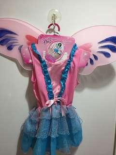 Dream Dazzlers Rocker Fairy Dress Up Frock with Wings