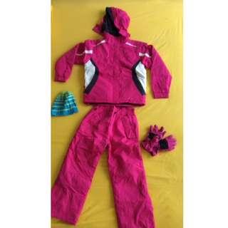 Pink Ski Clothes Set