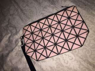Pre-loved pink pouch