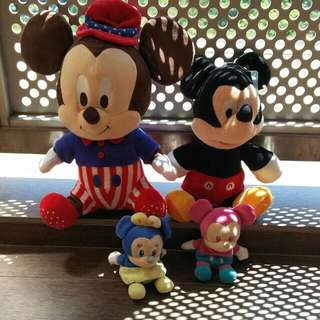 Soft Toys Mickey Mouse collection