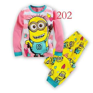 Minion Pyjamas ready stock