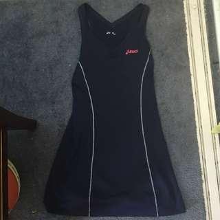 Navy Asics Tennis Dress Size XS