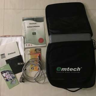 Gives your body an extra boost - Emtech PZ-100D