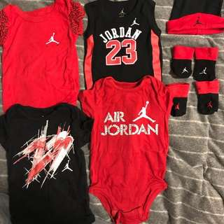 Jordan 4-piece set - from 0-12 months (can buy separately)