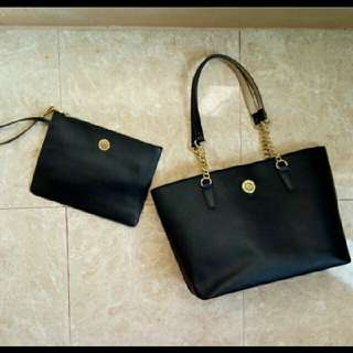 buy 1 get 1 bundle anne klein tote bag and pouch😍😍😍