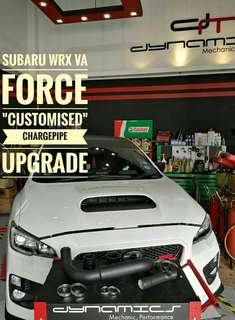 "Subaru WRX VA: FORCE ""Customised"" Charge_Pipe."
