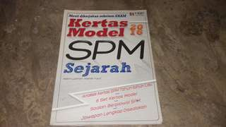SPM SEJARAH