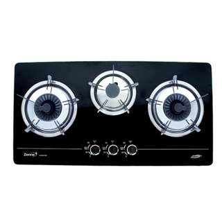 Zenne 3 Burners Built-In Gas Cooker Glass Hob (KGH301A)