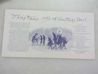 Vintage Royal Mail Card Christmas 1993