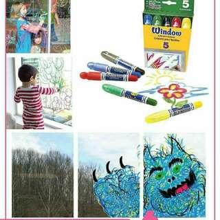 美國 Crayola Window Crayons