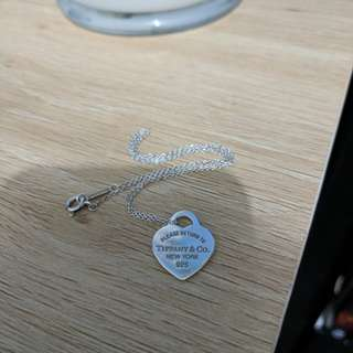 Tiffany&Co. Heart Necklace