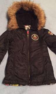 Hysteric mini coat jacket sz110 age 4-6