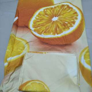 Sprei orange uk 180x200x20