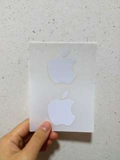 Apple icon stickers
