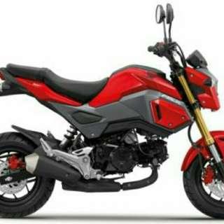 HONDA Msx 125 DP RM3000,Bulanan Rm361X36